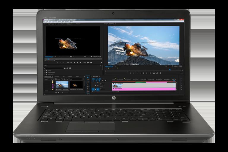 HP ZBook 17 G4 i7-7700HQ/16GB/512GB rental