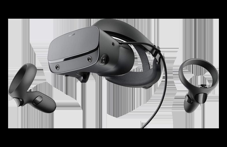 Oculus Rift S Virtual Reality VR Glasses Black rental