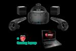 HTC Vive + MSI Gaming Laptop huren